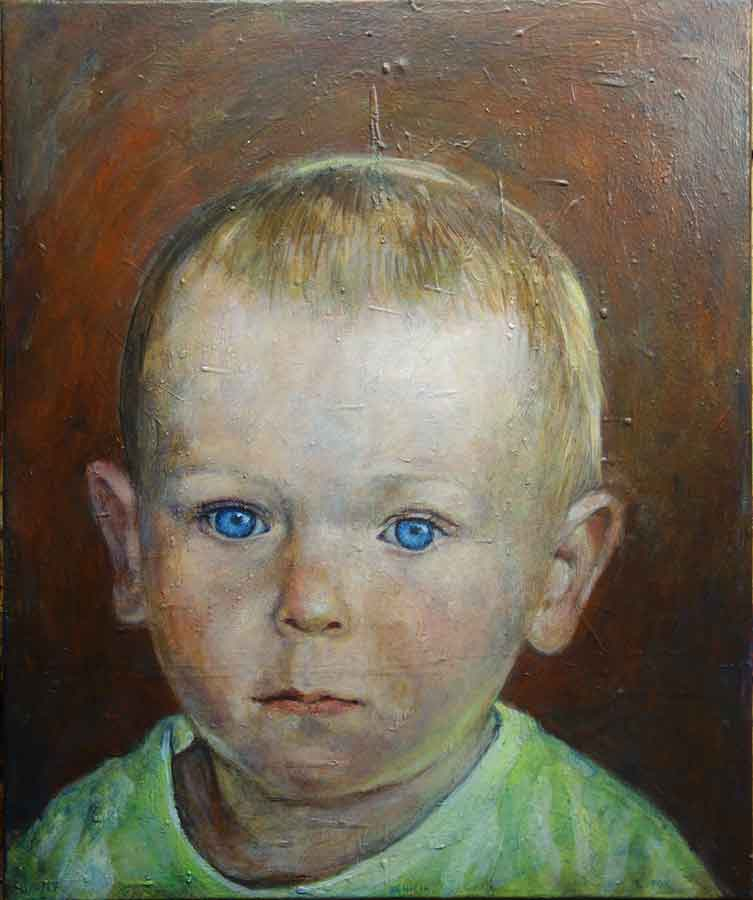 Portrait of Rhett